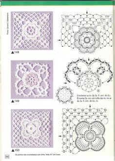 Gallery.ru / Фото #65 - Pontos de croche 205 идей - accessories