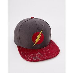 9d92179b6213b Ombre The Flash Snapback Hat - DC Comics - Spencer s