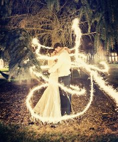 I do have a stack load of sparklers in the garage waiting for something like this.