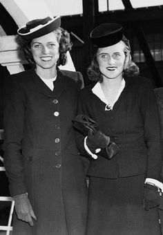 Eunice and Kathleen Kennedy