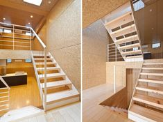 Shuhei Endo: Rooftecture OT2 interior. Beautifully done with OSB boards.