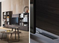 Mounting panel, Occasional furniture, Products   Mounting panel available in different matt and gloss lacquered  colors and eco-wood finishes. Design by #Novamobili.  #interior #design #italian #style #home #decor #furniture #storage #livingroom #madeinitaly