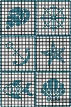 Tiny Cross Stitch, Cross Stitch Animals, Cross Stitch Charts, Cross Stitch Designs, Cross Stitch Patterns, Filet Crochet Charts, Crochet Diagram, Knitting Charts, Baby Knitting Patterns