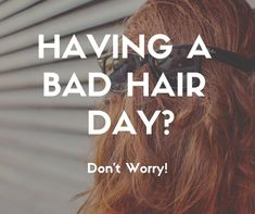 Have no fear, there shall be no more bad hair days! Let Jenn or Brandi fix you up!  Call 918.369.8482 or take a look at our online booking!