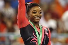 Simone Biles Breaks Record for Most World Gymnastics Gold Medal Wins