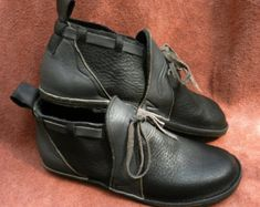 Handmade chocolate bullhide Leather Shoes NO SHOES by thoseshoes