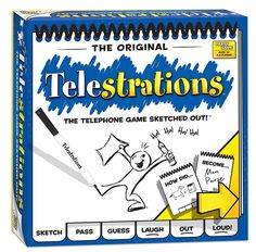 Amazon.com: Telestrations 8 Player - The Original: Game: Toys & Games