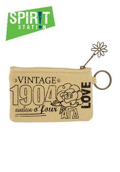 Alpha Gamma Delta Vintage ID Coin Purse-On sale this week! (1/20-1/26/13)