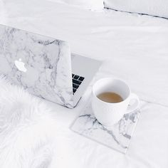 Marble laptop case.