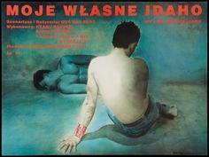 foreignmovieposters:  My Own Private Idaho (1991). Polish poster by Edmund Lewandowski and Maciej Mankowski.