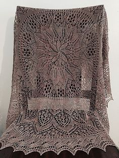 Ravelry: Flower and Garden Shawl pattern by Parry Otter