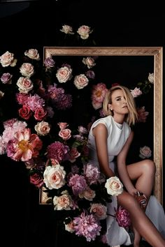 Flowers Fashion Photography Inspiration New Ideas Artistic Photography, Photography Women, Creative Photography, Editorial Photography, Fashion Photography, Wedding Photography, Photography Flowers, Photography Ideas, Colour Photography