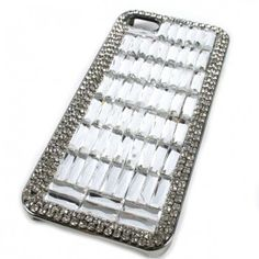 #Wholesale Phone Case  #Cell Phone #Cover http://www.shopforbags.com/clear-extreme-bling-rhinestone-iphone-5-cover.html?color=8912 $13.00