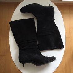 Suede Boots In Black From Aldo