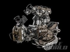 Testastretta DVT engine (Desmo Variable Timing)