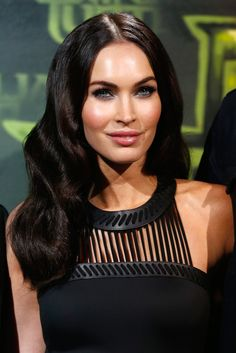 Give your hair gorgeous, Old Hollywood-inspired finger waves like Megan Fox for a stunning look worthy of the red carpet — or just date night.