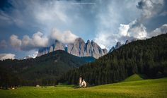 "Fairytale - st johann church, val di funes, dolomites. if you like my work follow me on  <a href=""http://www.facebook.com/guerelsahinpictures"">FB</a> or my <a href=""http://www.guerelsahinpictures.com"">Website</a>  thanks"