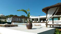 Balinees huisje met plant