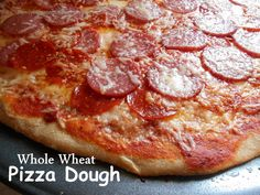 wheat pizza dough recipe yummly whole wheat thin crust whole wheat ...