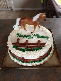 Horse birthday party!