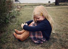 Plaid & cowboy boots