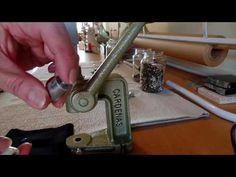 Como usar o balancim pra prega botão de pressão, botão de casinha, tic tac e…