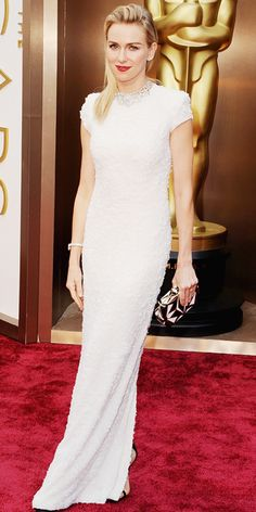 Oscars 2014 Red Carpet Arrivals - Naomi Watts from #InStyle