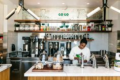 Don't call it fast food. A hot new Dallas option is all about grab-and-go options, but we're talking high-end ingredients and high-end coffee. This is about as far from McDonald's as one can get. Step inside the new Go Go and you'll have lunch and breakfast options galore.