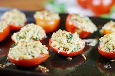 The Kitchen is My Playground: Parmesan Broiled Tomatoes