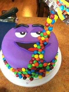 My very first anti-gravity cake.