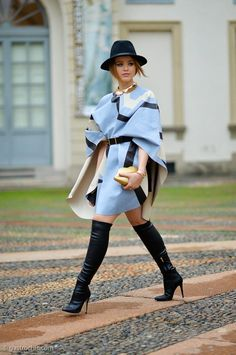 Style up by Angel: WinterTrend: Cape cool !