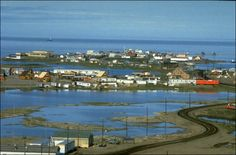 Tuktoyaktuk, or Tuktuyaaqtuuq (Inuvialuktun: it looks like a caribou), is an Inuvialuit hamlet located in the Inuvik Region of the Northwest Territories, Canada. Commonly referred to simply by its first syllable, Tuk, the settlement lies north of the Arctic Circle on the shore of the Arctic Ocean. Formerly known as Port Brabant, the community was renamed in 1950 and was the first place in Canada to revert to the traditional Native name.