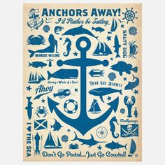 Anchor Print 18x24 now featured on Fab.