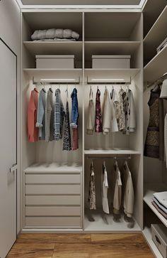 Modern Bedroom Clothes Cabinet Wardrobe Design To see More visit 👇 - Wardrobe Design Bedroom, Master Bedroom Closet, Bedroom Wardrobe, Bedroom Bed, Walk In Closet Design, Closet Designs, Clothes Cabinet, Closet Layout, Trendy Bedroom