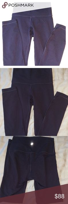 Lululemon Black Cherry High X's Very Like New, worn once but too small for me!  7/8 high times pant in the color Black Cherry.  Price firm. lululemon athletica Pants Leggings