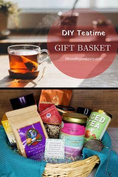DIY Teatime Gift Bas