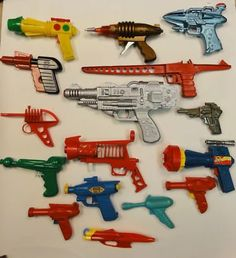 Vintage ray guns ONLY intended for the Defense of American Space Interests.