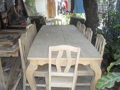 Gings Six seater Tugas Dining Table Set Cebu Furniture Pinterest