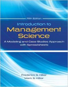 Solution manual for accounting for decision making and control 8th test bank introduction to management science a modeling and case studies 5th edition by hillier fandeluxe Image collections