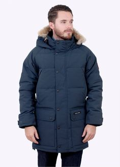 Canada Goose Emory Parka - Ink Blue - Canada Goose from Triads UK