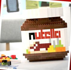 Lego nutella yuuum... doh no chocolate :(