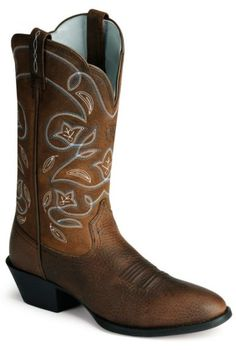 Ariat oiled leather Heritage western boots available at #Sheplers