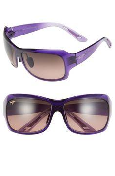 37669824ab Women s Maui Jim  Seven Pools  Polarized Sunglasses - Purple Fade  Maui Rose