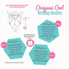 Contact me if interested in any of the bundles - Danelle Lavernuick Origami Owl Independent Designer #11116669 - www.beautifulbling.origamiowl.com