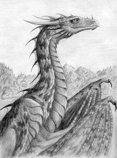 Dragoness by Chickenzaur.deviantart.com on @deviantART