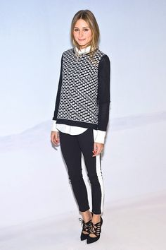 Tip 9: Tap into your sporty side (and simultaneously slim your silhouette) with a side-stripe pant.