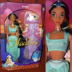 Poupée Barbie Disney Classics Aladdin - Princesse Jasmine | eBay