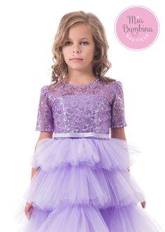 Pretty Toddler Birthday Sequin Dress / Special Dress for Birthday Pretty tulle and sequin birthday girl dress with tulle skirt and sequined top, perfect toddler or baby dress. Elegant short sleeves and tiered layers of soft tulle skirt. This adorable tea length dress embellished with satin bow belt and culminates in a contrasting full tulle skirt. This sequin dress will make any toddler or little girl the belle of birthday party or wedding. Available in pink and lavender