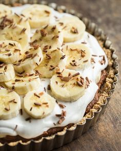 Bananofee Pie #healthy #clean #recipes http://greatist.com/eat/clean-eating-recipes-that-taste-amazing