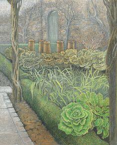 """One o' the kitchen gardens"" from The Secret Garden"